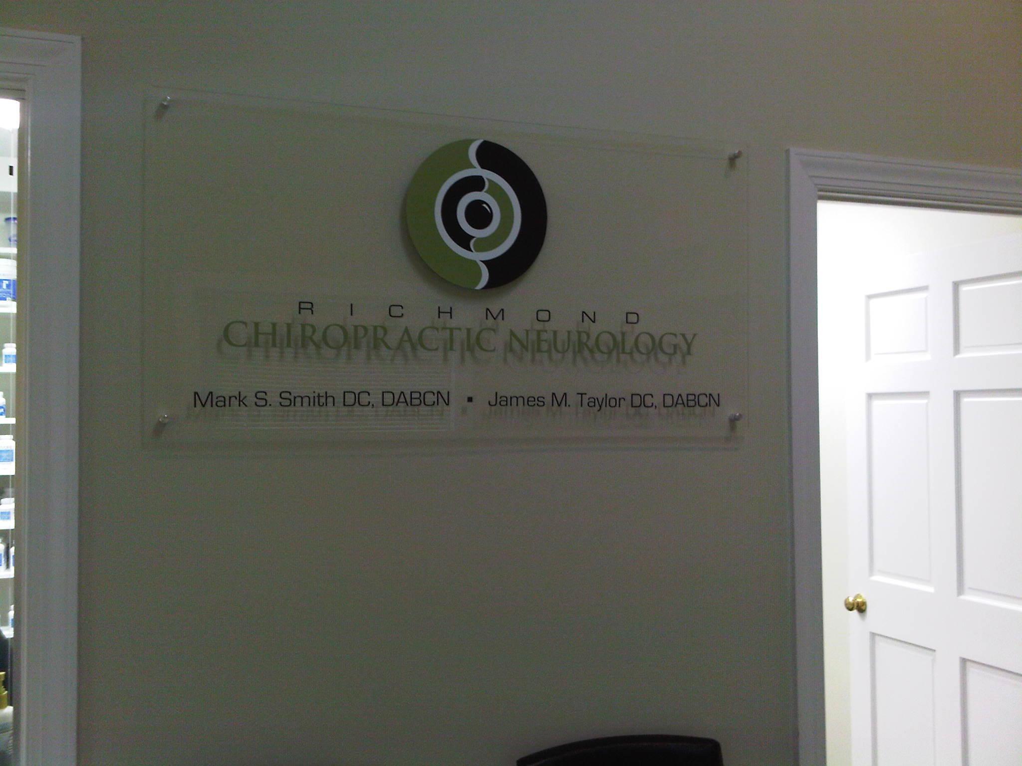 Modern Lobby sign